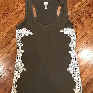 Route 66 Embroidered Tank